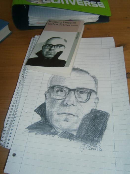 Wolfgang Koeppen por Yanii